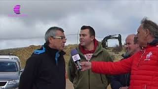 Canalización agua Tortuera por JCCM