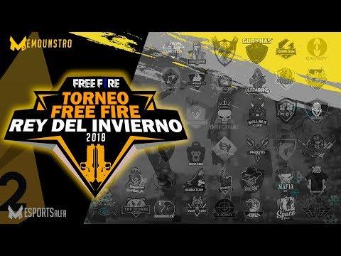 TORNEO DE FREE FIRE REY DEL INVIERNO 2018