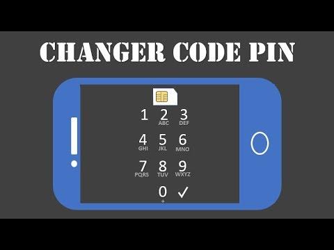 Changer Le Code Pin D Une Carte Sim Sur Mobile Android Youtube