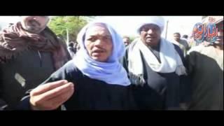 """""""عيش حرية عدالة إجتماعية"""" هتافات العاملين المؤقتين بأسوان أمام مكتب المحافظ"""