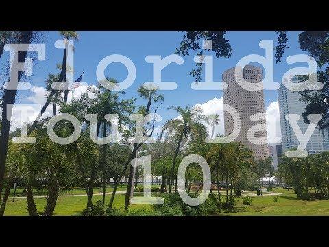 Florida Tour 2017 - Day 10 of 22 Days - Tampa - Riverwalk - Ybor City - University