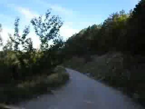 Unpaved Road to Notre Dame de Lure