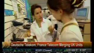 Duetsche Telekom, France Telecom Merging UK Units - Bloomberg