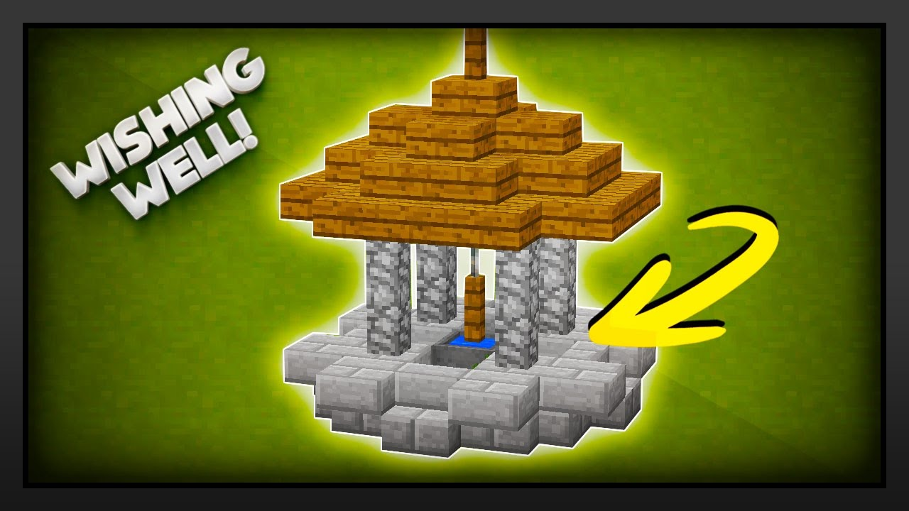 Minecraft: How To Make A Wishing Well