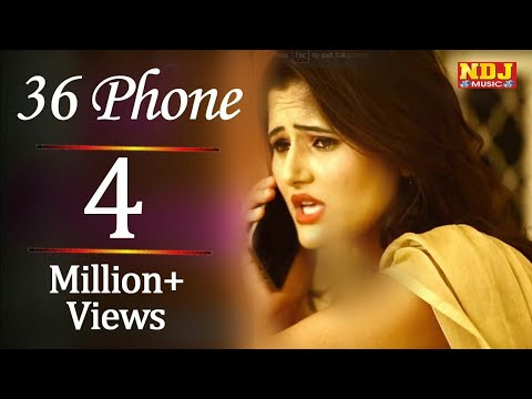 36 Aa liye Phone Tere || Best Haryanvi Status || Vk Music Center 👍