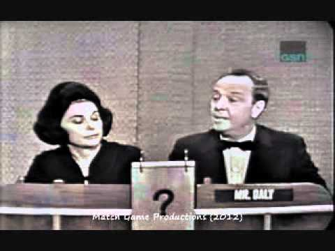 What's My Line Charles Nelson Reilly Special Guest 1964
