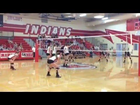 Samantha McCreath Volleyball Highlights co 2017
