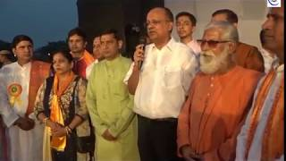 DM B.N. SINGH Dussehra Message From Dharmik Ramleela Stage