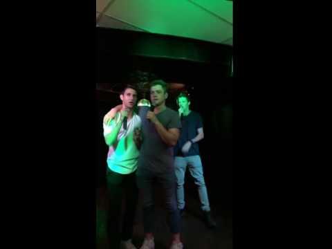 Taron Does Karaoke