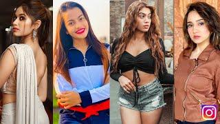 Instagram Reels video|All Tiktokers! Amulya,Mr.faisu,Jannat,Avneetkaur,Anushkasen,Arishfa,Riyaz aly