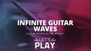 Infinite Guitar Waves YouTube Channel Intro