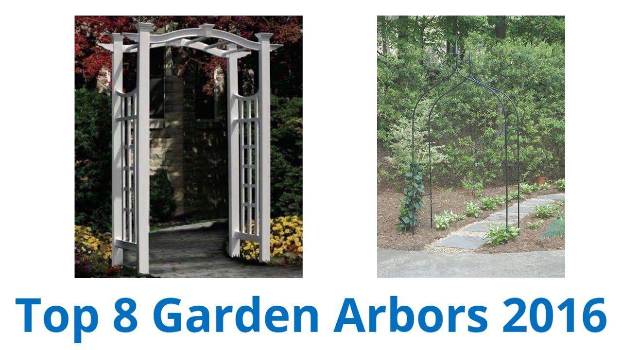 8 best garden arbors