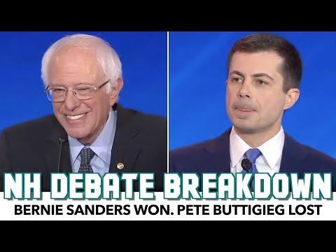 NH Debate Breakdown: Bernie Won, Pete Lost