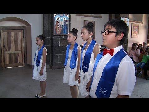 Ազգադրոշմի արարողություն՝ Օշականի Սուրբ Մեսրոպ Մաշտոց եկեղեցում