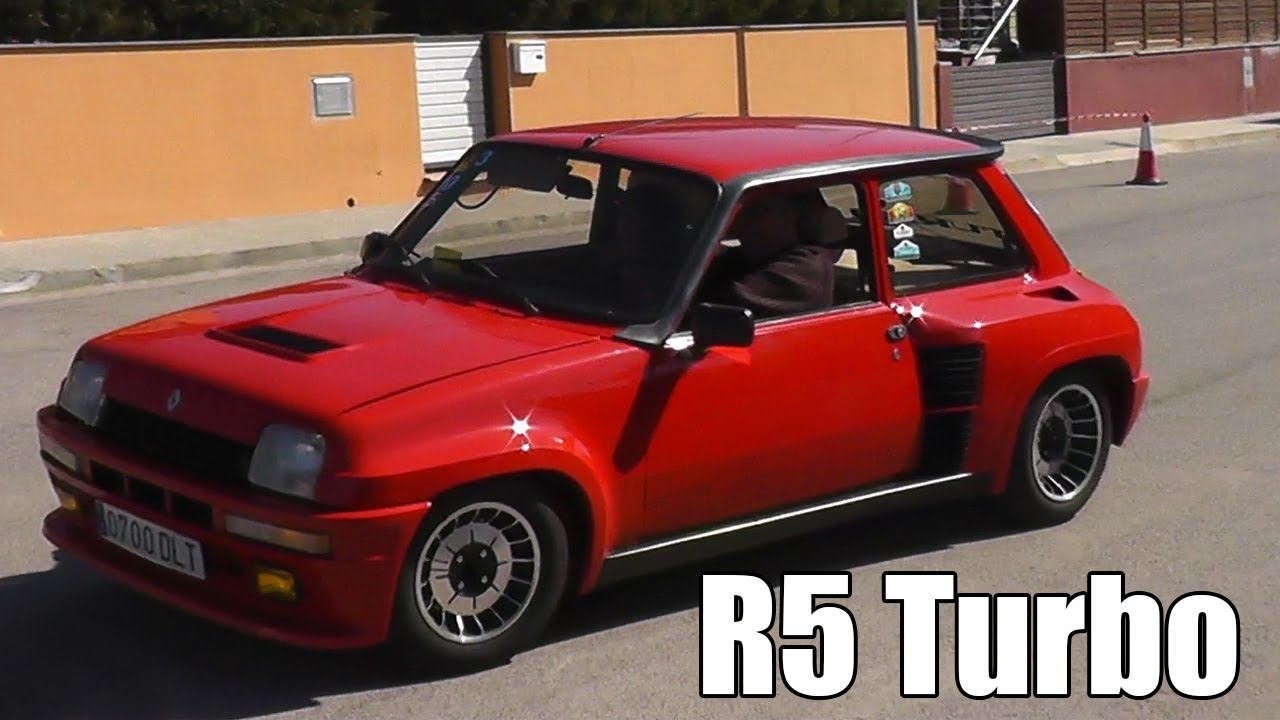 renault 5 turbo turbo 2 gt turbo copa turbo slalom. Black Bedroom Furniture Sets. Home Design Ideas