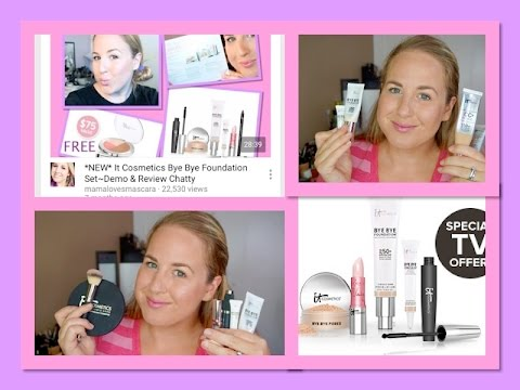 It Cosmetics Bye Bye Foundation  In Depth Review & Demo & Comparison to the CC+ Cream