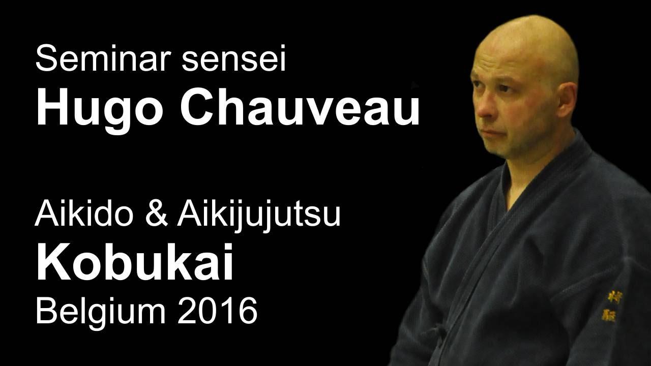 Demonstration 7: sensei Hugo Chauveau Aikido & Aikijujutsu Kobukai Belgium 2016