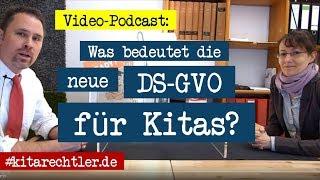 Kitarecht Folge 225 - Die neue Datenschutz-Grundverordnung (DSGVO) im Kita-Alltag! Was kommt da?