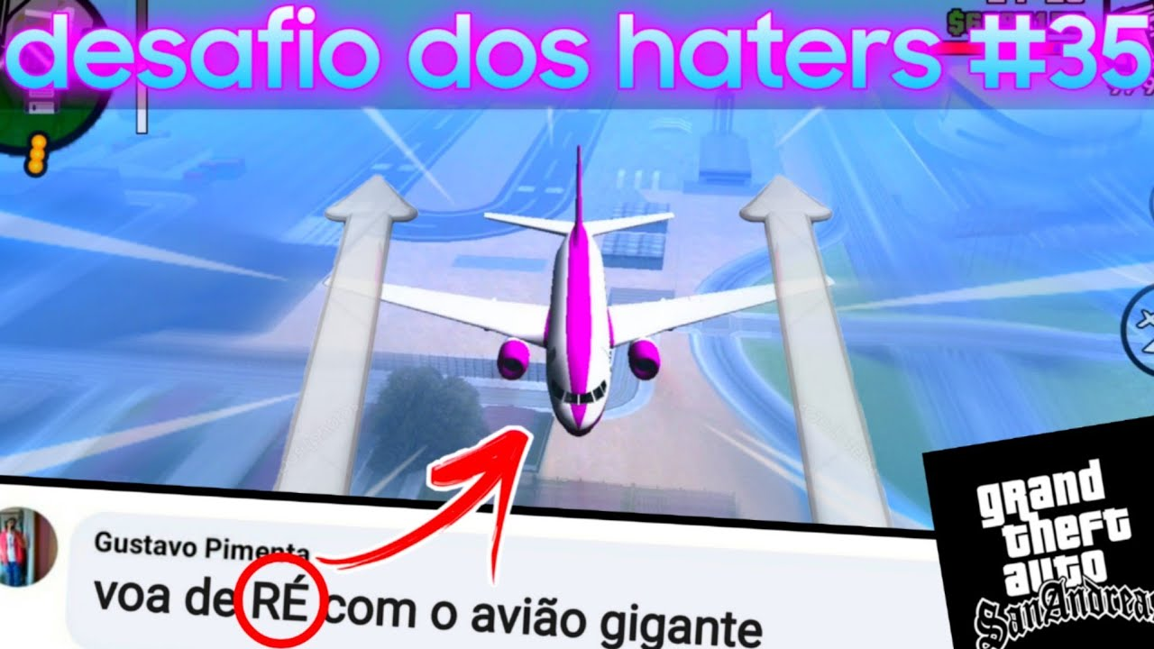 GTA p/ ANDROID - fiz oq os haters mandaram #35