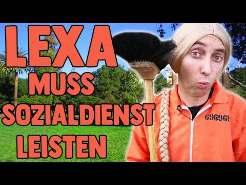 Lexa muss Sozialdienst leisten!