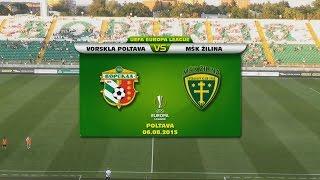 FC Vorskla Poltava - MŠK Žilina 3:1 pp (2:0, 0:0)