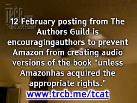 Kindle 2 and The Authors Guild