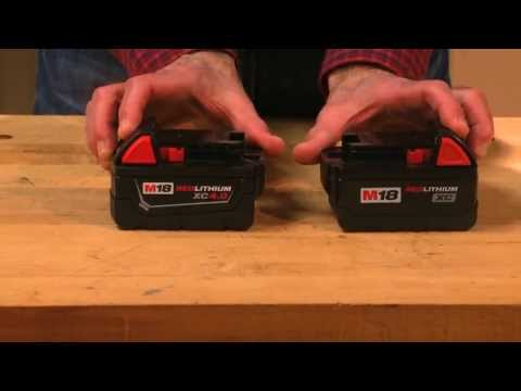 We Tried It: Milwaukee Tool Higher Amp Hour Batteries