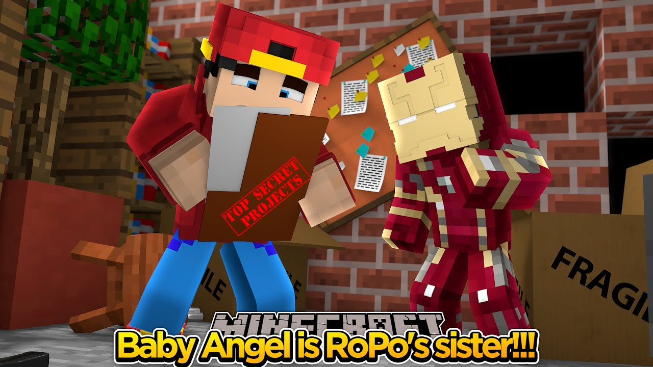 minecraft adventure - baby angel is ropo's sister?? - youtube