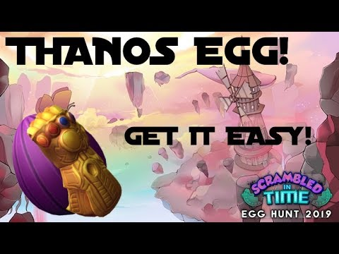 New Roblox Hack Script Roblox Egg Hunt 2019 Thanos