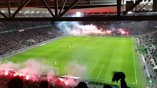 Les chants du match ASSE 🆚 PSG | MF91| GA92 |