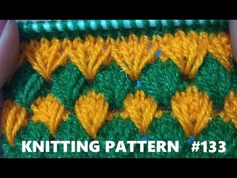 New Beautiful Knitting pattern Design #133  2018