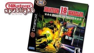 Spotlight Video Game Reviews - 18 Wheeler: American Pro Trucker (Dreamcast)