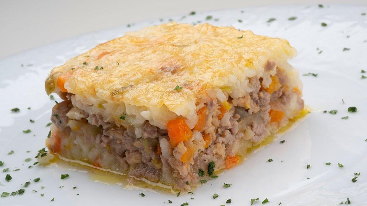 Pastel De Arroz Y Carne Picada Karlos Arguiñano En Tu Cocina Youtube