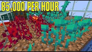 Auto Nether Plant Farm! (85,000 items/hr) | 1.16-1.16.2+ Minecraft