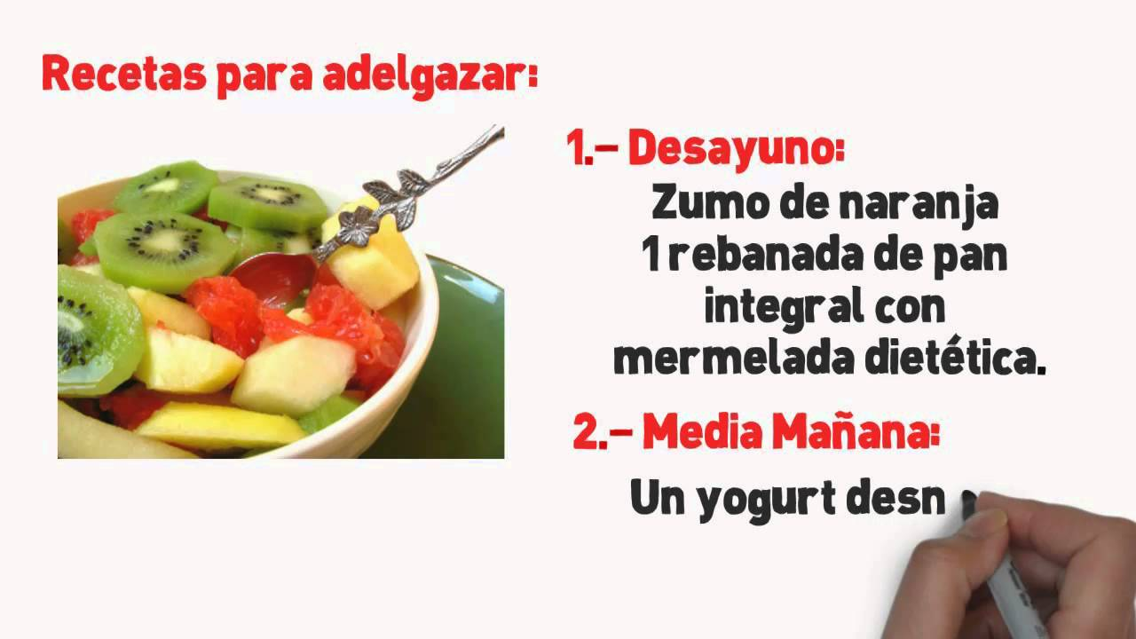 Alimentacion sana para adelgazar
