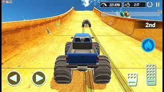 Monster Truck Mega Ramp Extreme Stunts GT Racing - Impossible Car Game - Android GamePlay