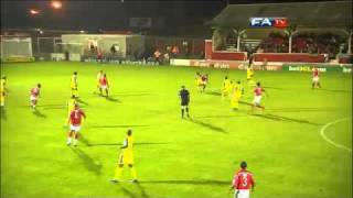 Ebbsfleet Utd 2 - 3 (AET) AFC Wimbledon - The FA Cup 1st Round Replay - 18/11/10