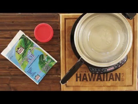 How To Prepare Frozen Poi The Easy Way - No Microwave
