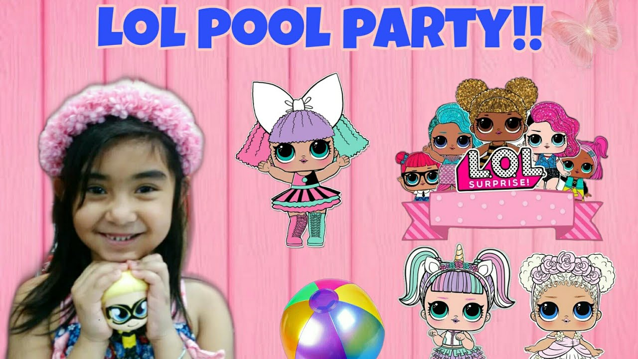 LOL Pool Party
