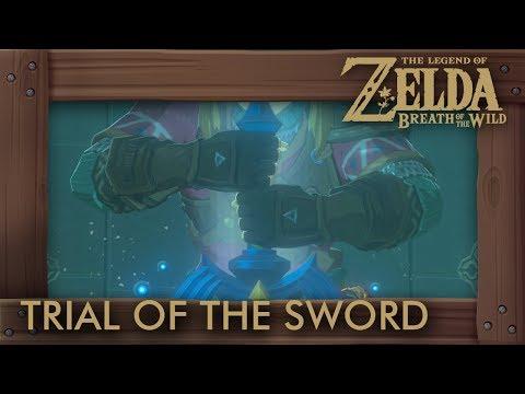 Zelda Breath of the Wild - Trial of the Sword (Final Trials)