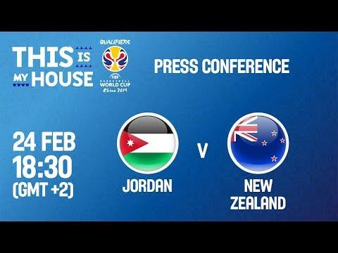 Jordan v New Zealand - Press Conference