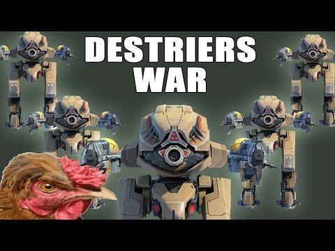 DESTRIERS WAR - War Robots