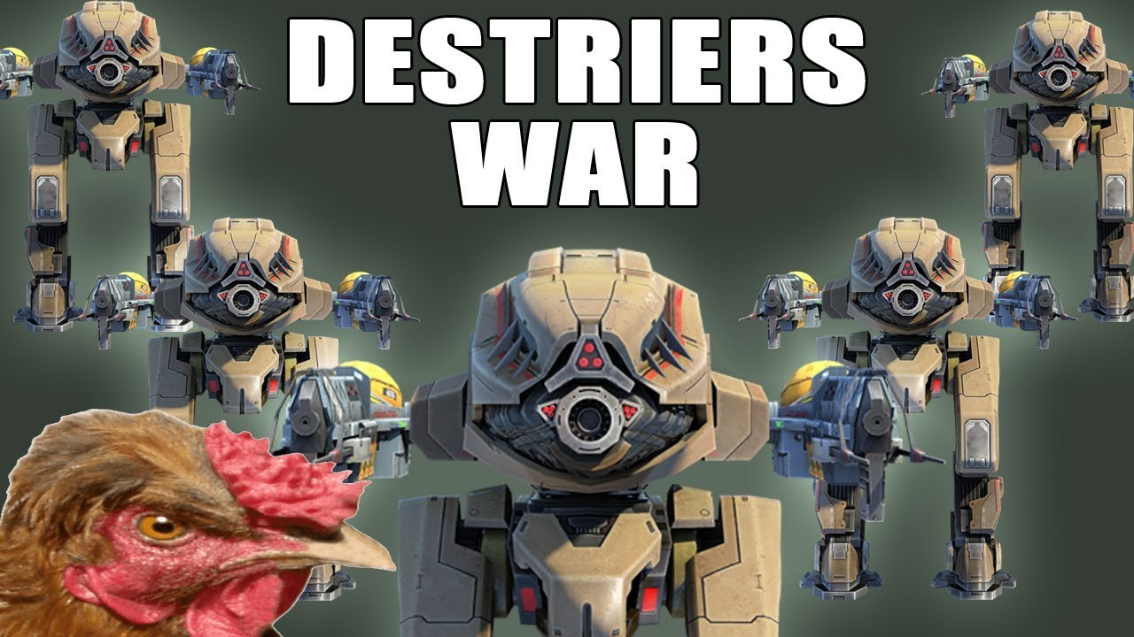 GUERRA DE DESTRIERS - War Robots