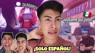 I Tried Speaking ONLY SPANISH for a WHOLE DAY!! | Louie\'s Life