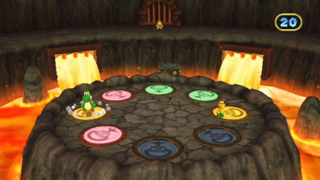 Mario Party 9 Bowser Jr Minigame Double Pounder