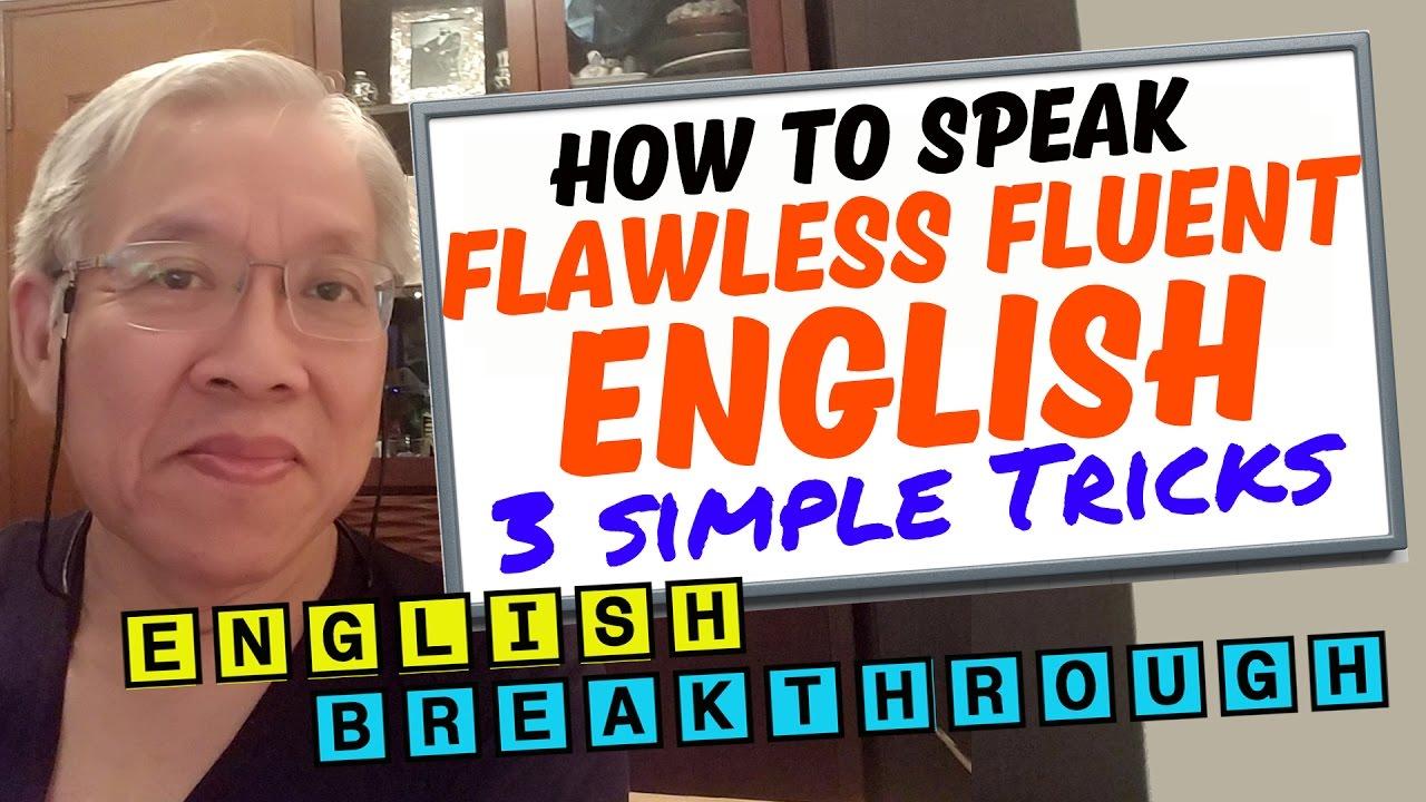 how to speak fluent english without hesitation