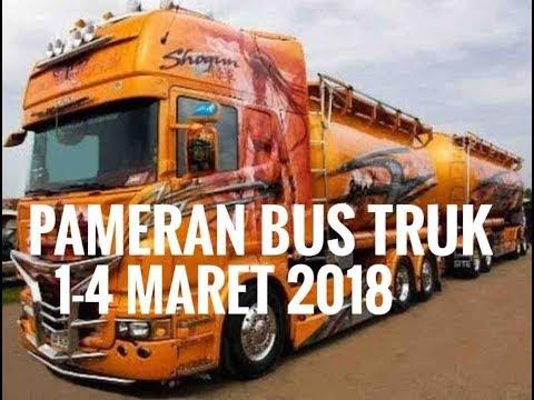 Pameran Truk & Bus Tanggal 1-4 Maret 2018 | otomotifmagz.com
