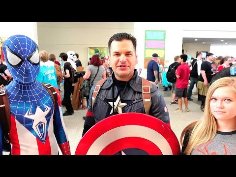 Captain America Public Service Announcements at Raleigh Supercon! Marvel Parody
