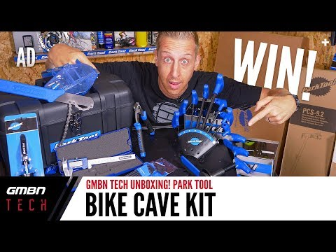 Park Tool Ultimate Bike Cave Tool Kit! | GMBN Tech Unboxing