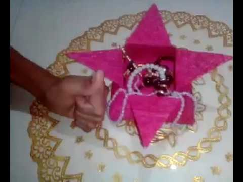 How to make jewelry box at home with craft paper